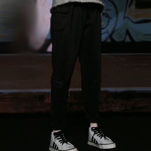 IMS_Casual pants(Black)
